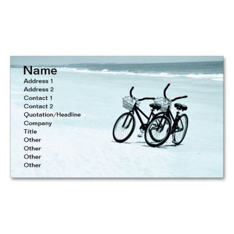 bicycle business card template 201 best bicycle business cards images on