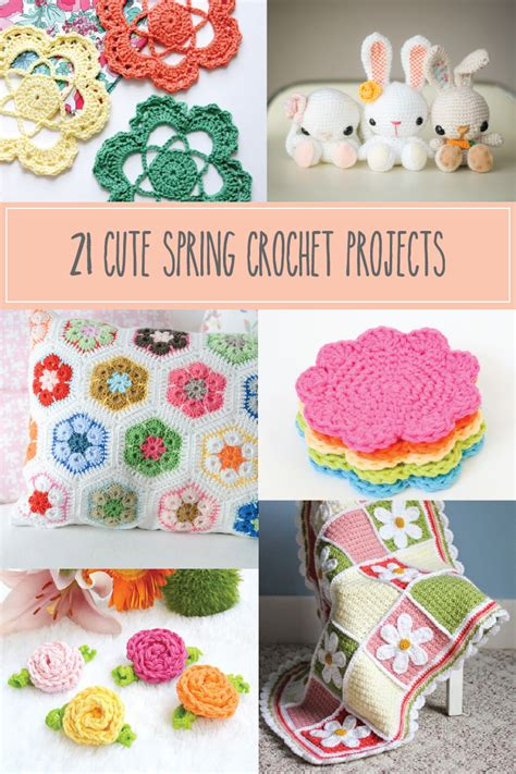 crochet craft projects 21 crochet projects