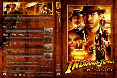 Indiana Jones Raiders Of The Lost Ark Blu Ray by Indiana Jones The Motion Picture Anthology Movie Dvd
