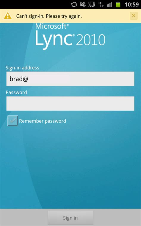 lync 2013 for android lync 2010 mobile client for android