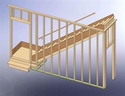 Garage Stairs Design 48x28 Garage With Attic And Six Dormers