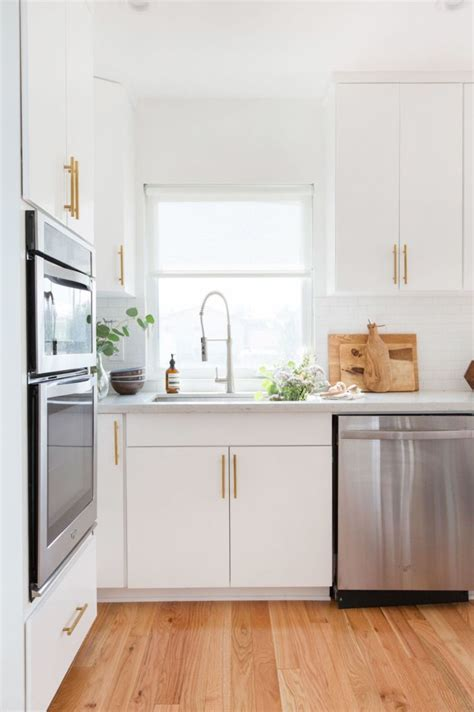 white kitchen floors before after a los angeles home transformation casa kitchen home decor