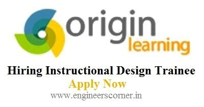 design engineer trainee jobs in chennai origin learning hiring instructional design trainee for