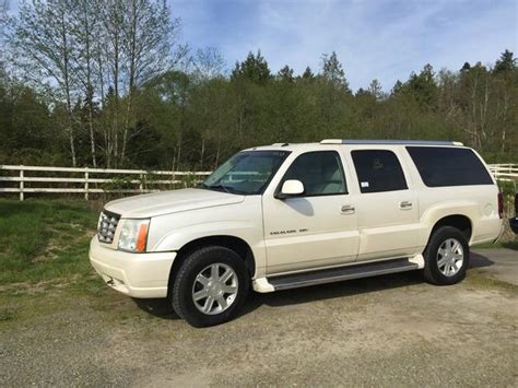 cadillac escalade length 2003 cadillac escalade esv suburban length city