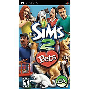 The Sims 2 Sony Psp sims 2 pets psp
