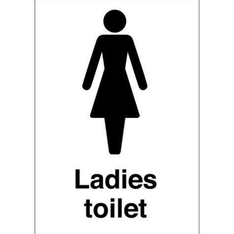 ladies bathroom durable plastic or vinyl ladies toilet signs safetyshop