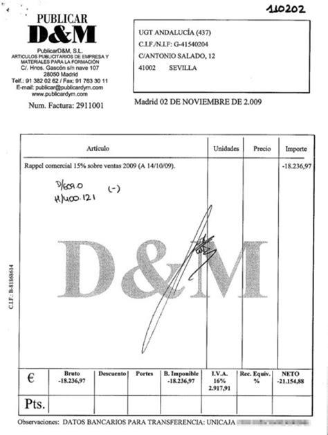 ejemplo de cobro de comisiones ugt tambi 233 n cobr 243 mordidas del plan orienta andaluc 237 a