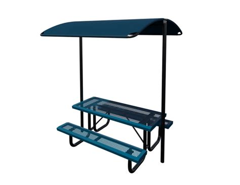 6 picnic table shade site amenities