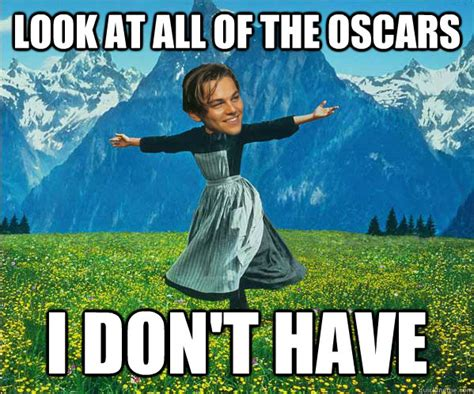 Leo Oscar Meme - oscars the screen life