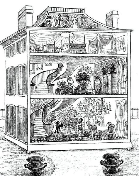 coloring pages for doll house 91 best images about dollhouse on pinterest coloring