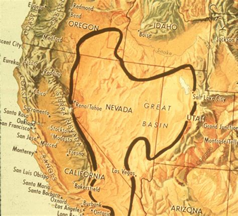 map of the united states great basin debunked shasta snow and water aluminum tests metabunk