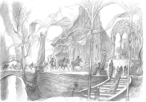 sketchbook journey beautiful middle earth concept for the hobbit geektyrant