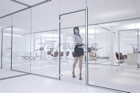 pareti vetro ufficio spazio le pareti divisorie in vetro 187 faraone