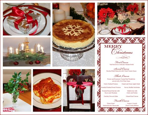 traditional italian christmas dinner stranded in cleveland italian dinner menu damask menu design