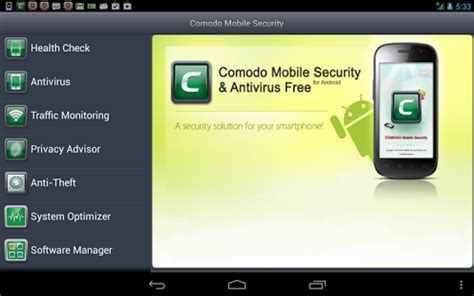 comodo antivirus apk comodo security antivirus 187 apk thing android apps free