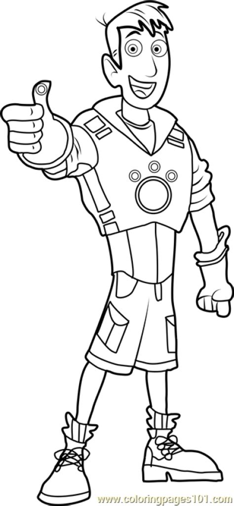 wild kratts tortuga coloring page wild kratts coloring sheet animated series coloring