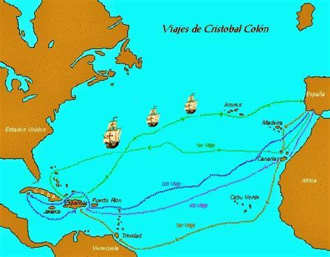 las embarcaciones de cristobal colon resumen los cuatro viajes de crist 243 bal col 243 n historia del per 218