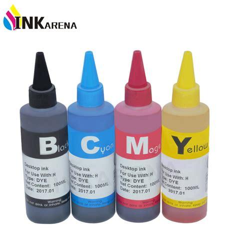 Indo Color Tinta Refill Inkjet Black inkarena black color refill dye ink kit for hp deskjet 1015 1515 2515 2545 2645 3515 4645