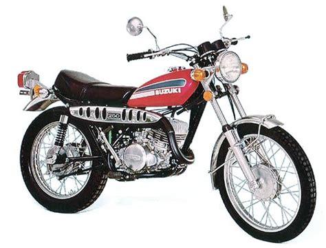 Ts250 Suzuki Suzuki Ts250 Model History