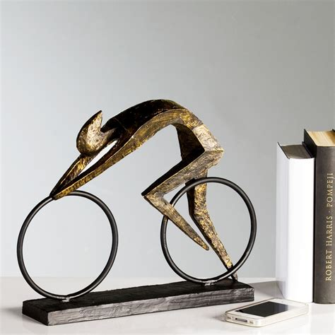 decorative sculptures for the home design sculpture quot racer quot bronze decoration figure