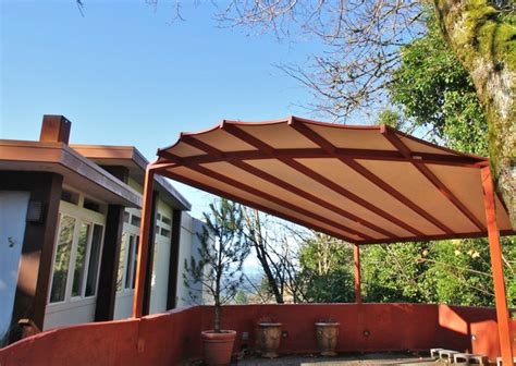garden shed with awning carport canopy awning