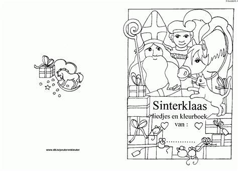 sinterklaas kleurplaat kleurplaten 4049 kleurplaat