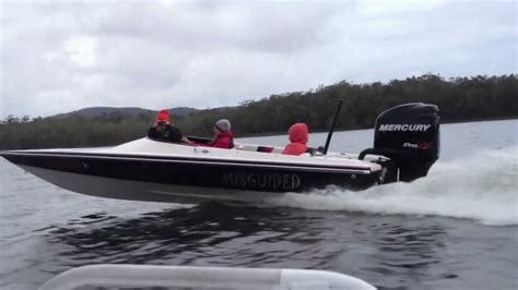 bullet boats nz bullet 1850 ski boat mercury 250 pro xs 2011 youtube