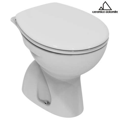 vaso dolomite vaso wc a terra in ceramica bianco quot serie free quot dolomite