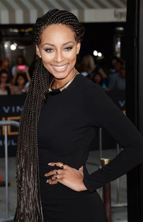 what king of braiding hair keri uses keri hilson so gorgeous in these braids african