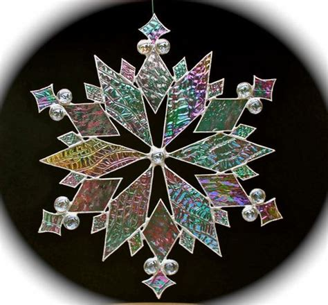 snowflake patterns for stained glass stained glass snowflake creative glass ideas mosaics