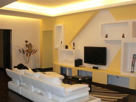 pareti con mensole parete in cartongesso con mensole e nicchie