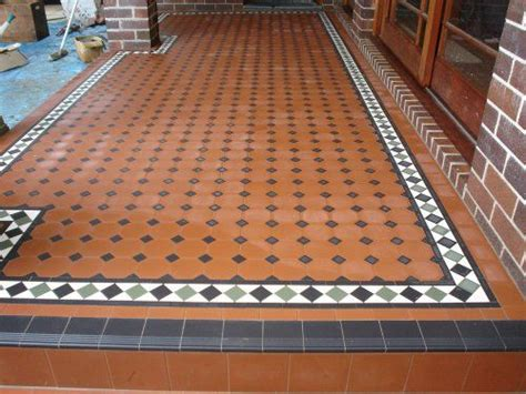 verandah tiles edwardian tiles 100x100 octagon verandah with norwood