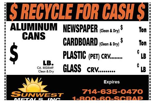oc recycling coupon