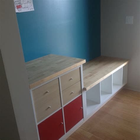 Kitchen Nook Table Ideas by Kallax Mudroom Ikea Hackers