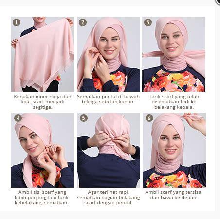 foto tutorial make up sederhana foto tutorial hijab modern sederhana terbaru 2016