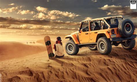 girl jeep wallpaper wallpaper jeep wrangler desert off roading girl hd