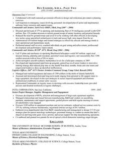 Us It Recruiter Resume Sle by 2 Pages Veteran Resume Exles Free Resumes