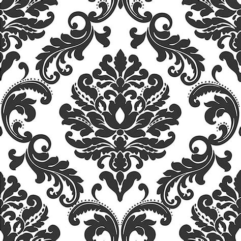 black and white rooster wallpaper ariel black and white damask peel and stick wallpaper