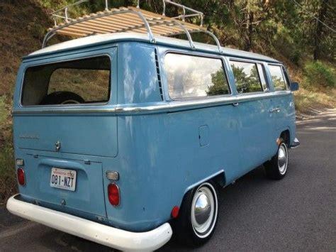 find   vw deluxe transporter  preserved clean  original paint  spokane