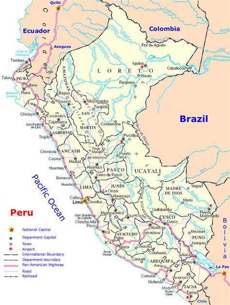 mapa de carreteras de 8499358500 mapa de carreteras de per 250 mapacarreteras org