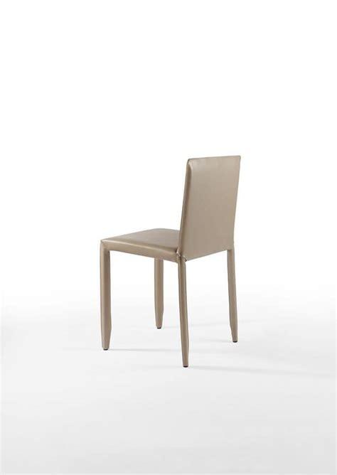 sedie acciaio e pelle sedia in acciaio e pelle per bar e cucina idfdesign