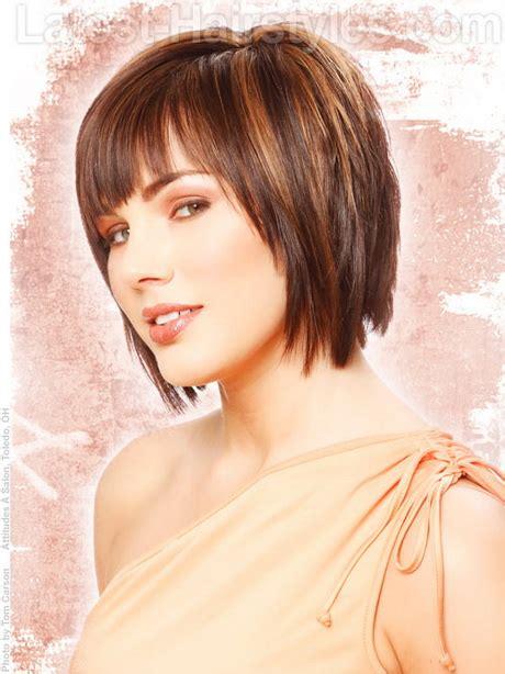 shag haircuts for heartshape faces layered short hair