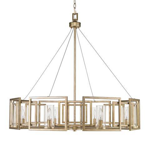 white metal eight light chandelier golden lighting marco 8 light white gold chandelier with clear glass shade 6068 8 wg the home