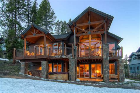 Vacation Rental House Plans by Lumber Jack Lodge True Slopeside Property Homeaway