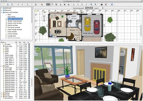 sweet home 3d 3d home design software apple 3d home design software
