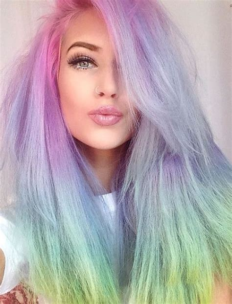 colorful hairstyles diffrent hair colours hairstyles for summer 2017 2018