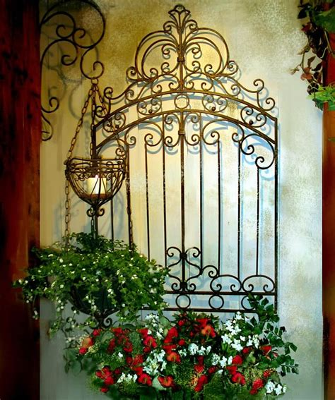 Tuscan Outdoor Metal Wall