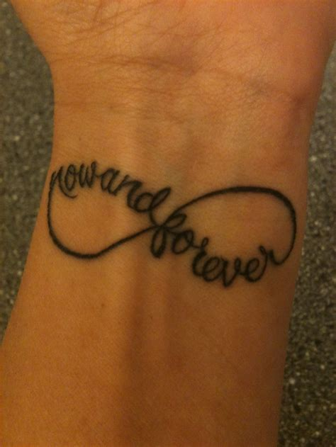 infinity wrist tattoo funky tattoos pinterest