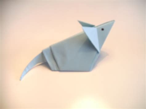 How To Make An Origami Mouse - origami mouse