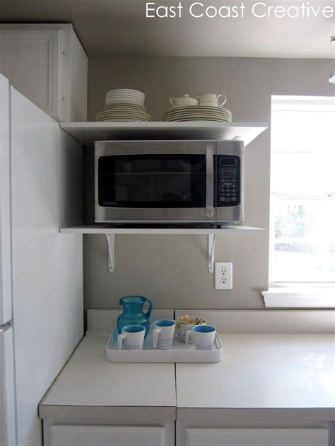 Microwave Wall Shelf White by 17 Best Images About Kitchen Ideas On Trash